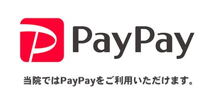 PayPayがご利用できます