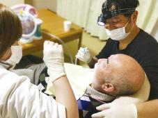 訪問歯科の様子
